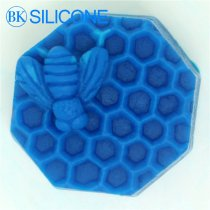 Bee Silicone Soap Molds Fondant Chocolate Candle Cookie Mould Cake Decorating Tools AH010