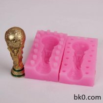 3D Silicone Candle Molds Chocolate Cookie Mould Cake Decorating Tools BKSILICONE WB001