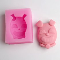 BE003 dog Resin Clay Chocolate Candy Silicone Cake Mould,Fondant Cake Decorating Tools wholesale