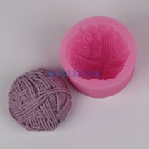 BK024 wool shaped silicone mold cake mold Soap mold Craft Molds DIY Handmade soap molds