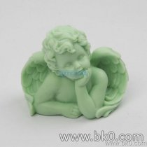BJ020 3D Angel Candle Silicone Mold Angel Clay Mold Baby Silicone Mold Cake Decorating Tools