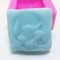 BL023 lily flower Craft Art Silicone Soap mold Craft Molds DIY Handmade soap molds