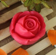 3D Rose Silicone Molds Fondant Cake Decorating Tools Soap Mould AD022