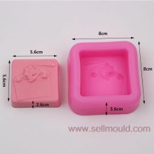 Mouse Soap Mold Craft Art Silicone Soap Molds Craft Moulds Diy Handmade Candle Molds AY016