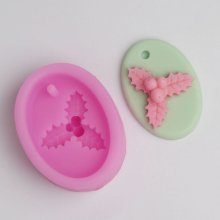 BC022 Pendant silicone mold flower cake decoration Sugar Craft Cake Tools