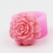 BA008 Fondant Cake Decoration Mold 3D Flower Soap Mold Cake Decorating Moulds