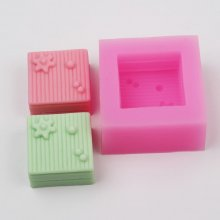 BA004 Silicone Soap Mold Cake Decoration Mold Cake Mold Manual Soap Mold Flower