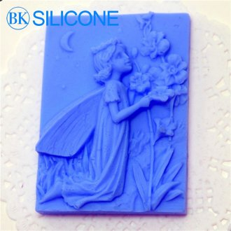 Girl Soap Molds Silicone Cake Mould Moulds AK003