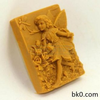 Fairy Maiden Run Soap Molde Silicone Angel Cake Molds AC005