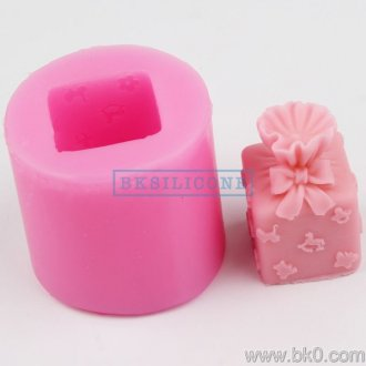 BH016 gaveeske silikon mold soap molds Cake Decorating Verktøy Molds Direct Selling