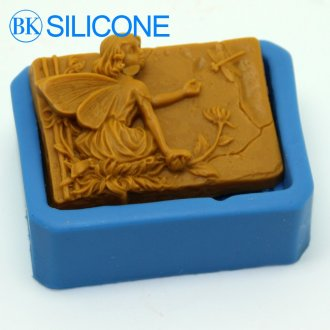 Flower Dragonfly Angel Silikonski Milo Moulds Cake Tools Bakeware Sugar Craft Mold AA012