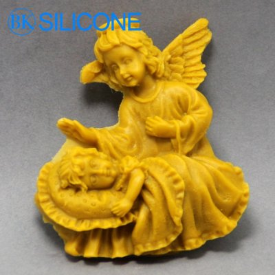 Silicone Moulds Angel Chocolate Mold Cake Cooky Soap Mold AD018
