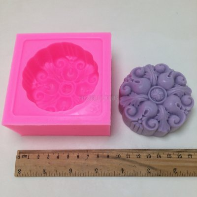 BN012 Silicone Mold 3D flower Shape Fondant Cake Decorating Tools Soap Moulds