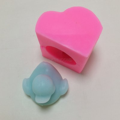BM023 3D duck Silicone Mould Fondant Cake Silicone Molds