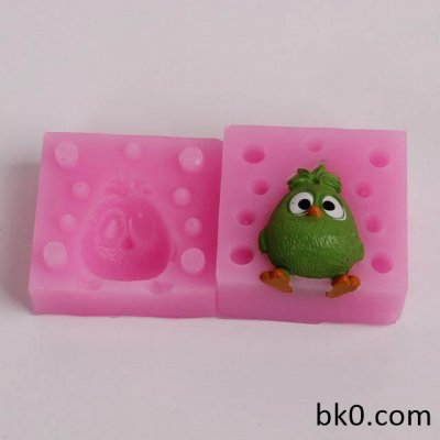 Bird 3D Silicone Molds Cake Decorating Tools Candle Chocolate Cookie Mould BKSILICONE WB014
