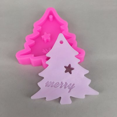 BK1095 Cake tools DIY silicone molds for cake decorating mini fondant mould christmas tree candy chocolate soap mold