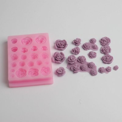 BD017 high quality flowers silicone mold Fondant Cake Decorating Tools Silicone Cake Mold