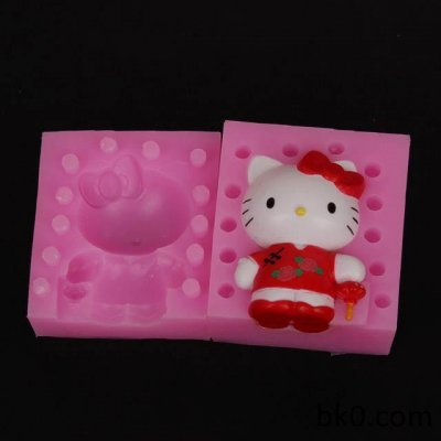 3D Silicone Mold Cartoon Cat Cake Decorating Tools Chinese Style BKSILICONE WB008