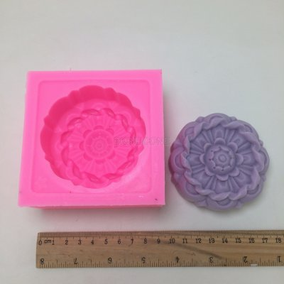 BN013 Flower Soap Mold Resin Clay Chocolate Candy Silicone Cake Mould Fondant Cake Decorating Tools