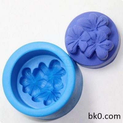 Flowers Handmade Soap Molds Cake Chocolate Mould Silicone rubberr For Moldding AC010