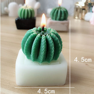 BK1078 DIY Vase Cactus Candle Silicone Molds Fondant Cake Decorating Tools Soap Clay Fimo Mold Gum Paste Moulds