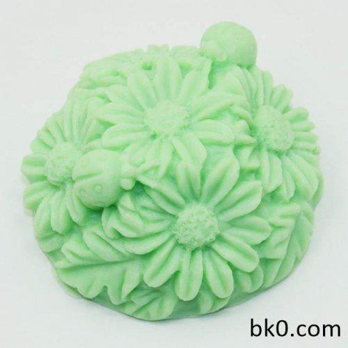 Daisy Craft Art Silicone Soap Mold Craft Molds DIY Handmade Soap Molds AR008