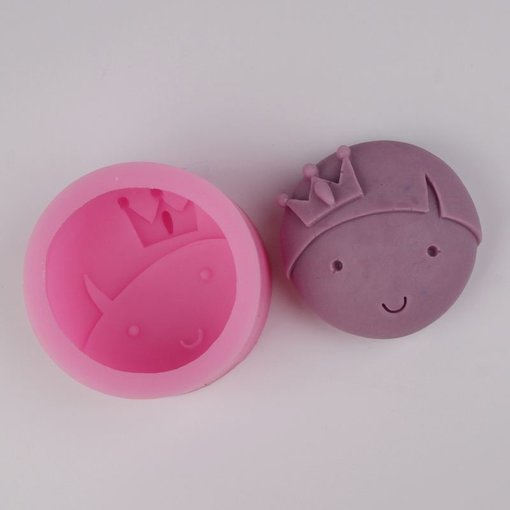 BG004 boy head prince Handmade soap silicone mold , silica gel mould,silicon candle moulds,gift favors mould wholesale