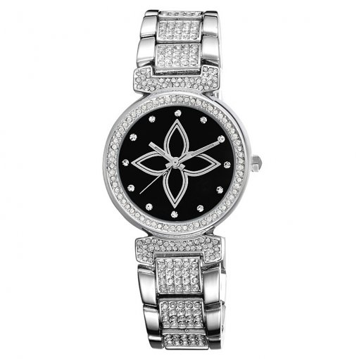 2018 Fashion Crystal Watch for Women, Dial Tables Watch for Girl, Ease of Leisure Quartz Watch for Teenagers