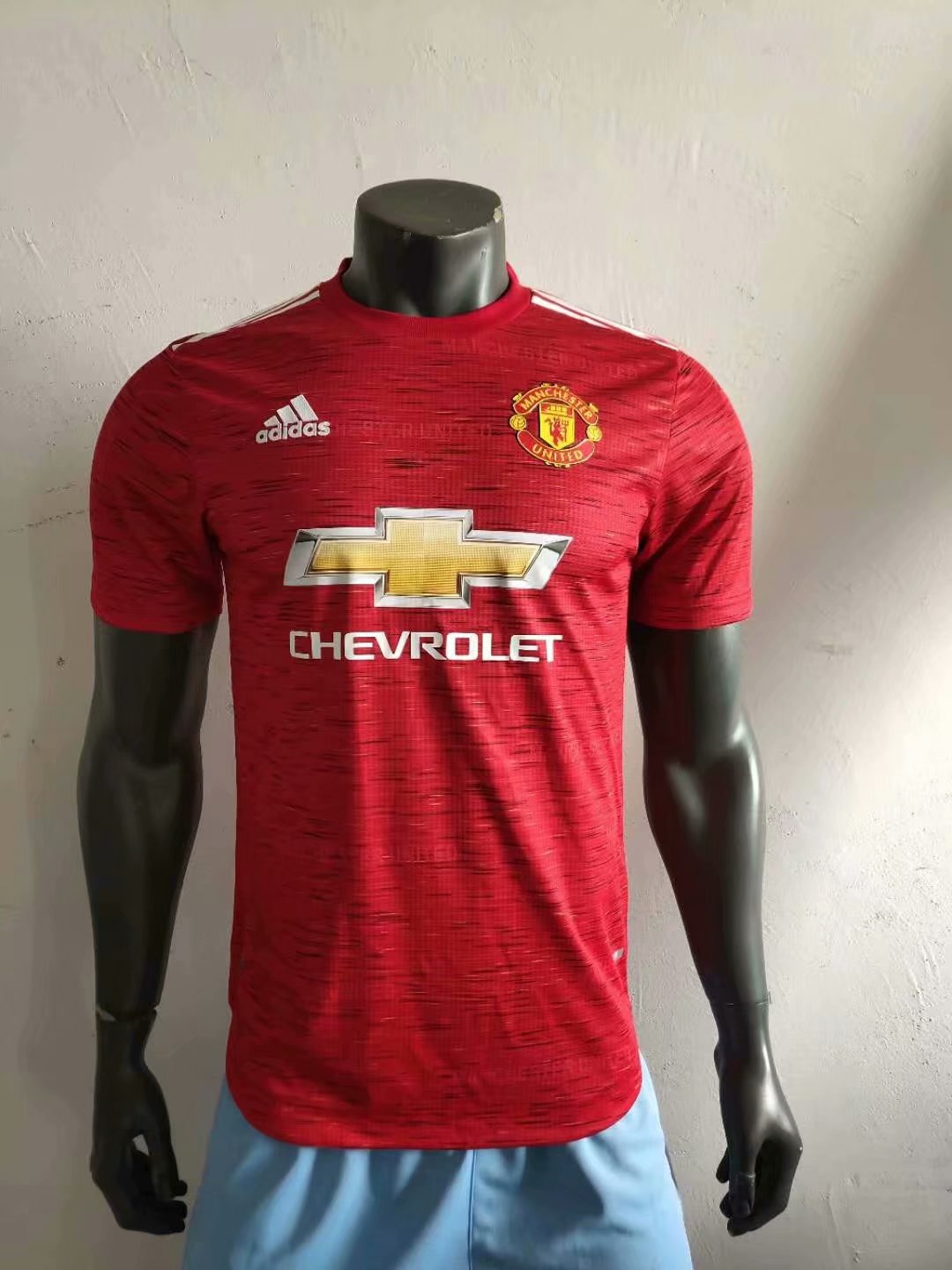20/21 Adult top players version Manchester home red soccer ...