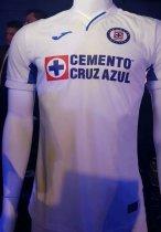 c7b9b641cce 19/20 Thai Quality With Logo Cruz azul Away White Soccer Jersey Football  Shirt