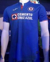 70ae240a384 19/20 Thai Quality With Logo Cruz azul Home Blue Soccer Jersey Football  Shirt