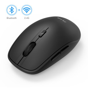 Dual Mode Bluetooth 4.0 Mouse 2.4G Wireless Portable Optical Mouse