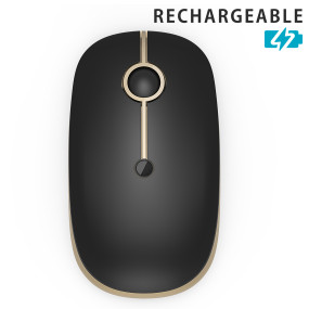 2.4G Enviromental Rechargeable Wireless  Mouse with high DPI