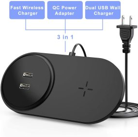 Wireless + USB Dual Mode Charger (++Buy from Amazon for only 13.99++)