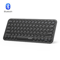 Bluetooth Round Keycaps Keyboard
