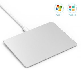 USB Touchpad Aluminum  Trackpad-Silver