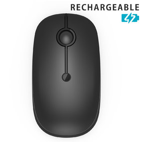 Upgraded Rechargeable 2.4G Wireless  Mouse with 3 DPI