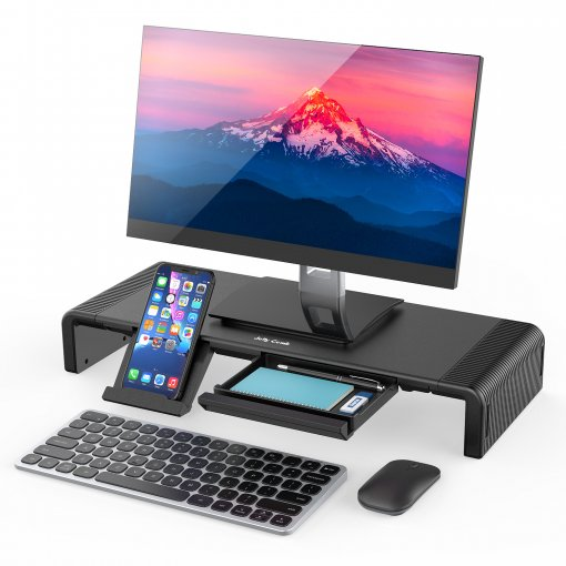 Computer Monitor Stand with Drawer Z021