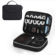 3-Layer Electronics Organizer Pro (Travel Tech Bag)