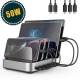 5 Port USB Charging Station for Multiple Devices