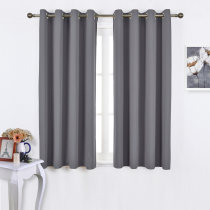 NICETOWN Blackout Curtain Panels for Windows (2 Panels, 52 Inches  Wide for Each Panel)