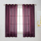 NICETOWN Grommet Top Sheer Curtains, 54 Inches  Wide, 2 Panels