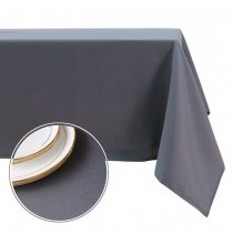 NICETOWN Rectangle Tablecloth, 1 Pack, 60 Inches Wide