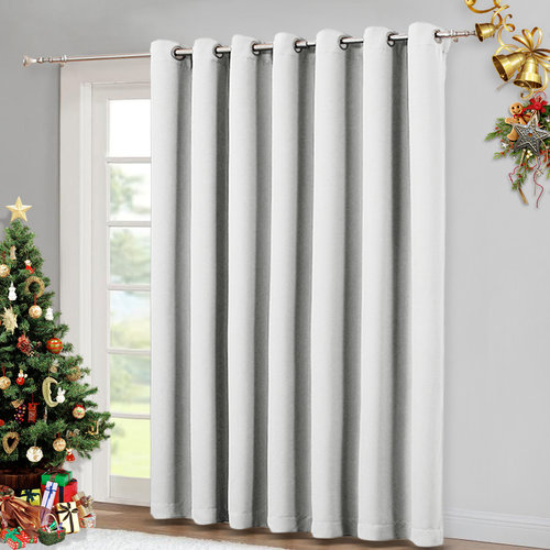 NICETOWN Blackout Curtain Panel, 100 Inches  Wide x 84 - 108 Inches Tall, 1 Panel