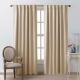 NICETOWN Thermail Insulated Rod Pocket & Back Tab Blackout Curtains, Noise Reducing Drapes, 52 Inches Wide, 2 Panels
