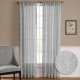 NICETOWN One Pair Zigzag Chevron Pattern Sheer Window Curtains / Drapes 52 Inches Wide