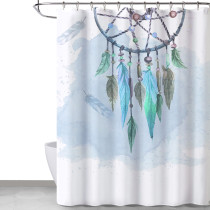 NICETOWN Custom Native American Farmhouse Pattern Shower Curtain