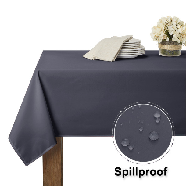 Banquet Waterproof Tablecloth Sheet for Picnic Oblong Table