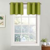 Custom Short Curtain Half Window Curtain Privacy Curtain Tiers for Windows Bathroom Shade by NICETOWN ( 1 Panel )