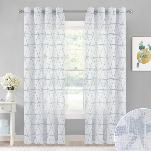 Semi-Transparent Light Airy Privacy Protect
